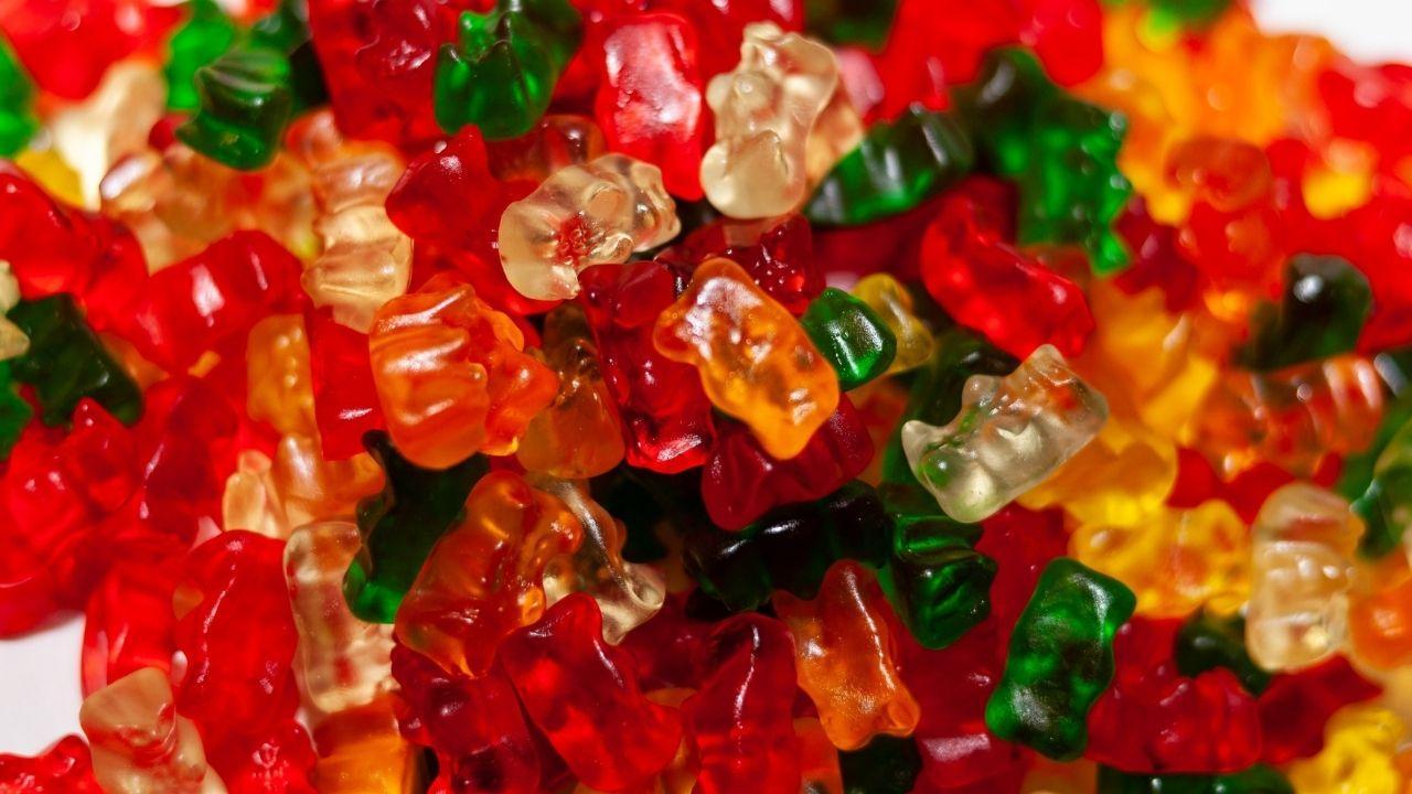 želatinové cukríky