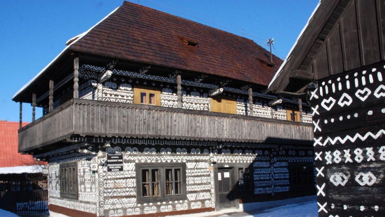 Čičmany Radenov dom