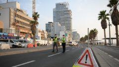 lockdown tel aviv izrael polícia