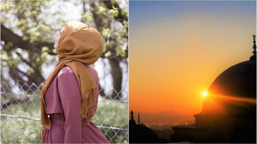 Hijáb Turecko Antalya