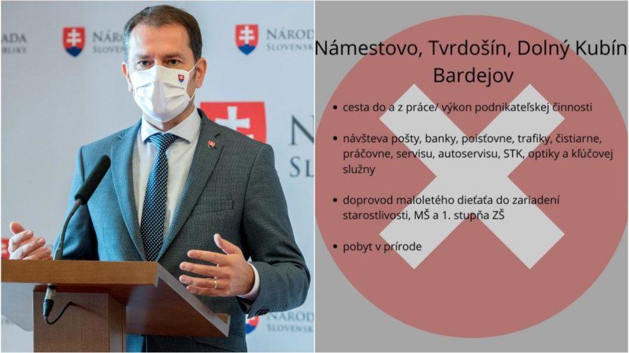 opatrenia 24.10. 1.11. Slovensko koronavírus