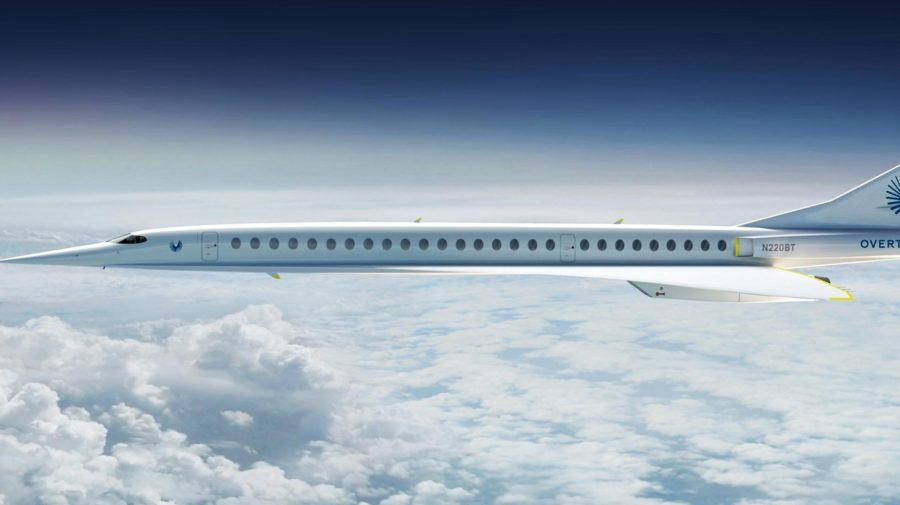 Overture Boom Supersonic