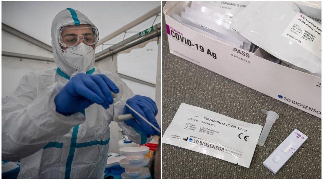 testovanie, koronavirus, antigenove testy