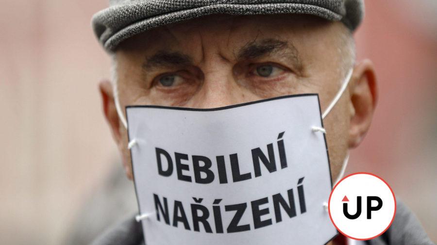 Covid protest