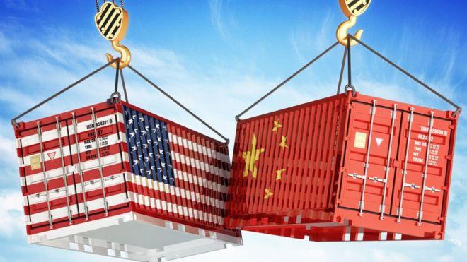 obchodná vojna USA vs. Čína