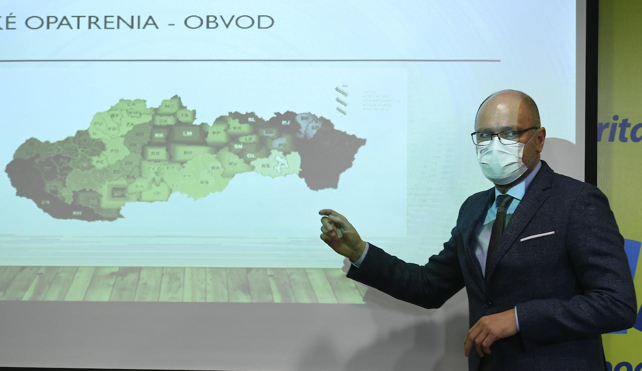 semafor covid korona koronavírus slovensko