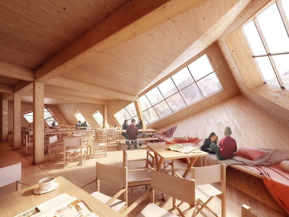a8000 kežmarská chata architektúra vysoké tatry design