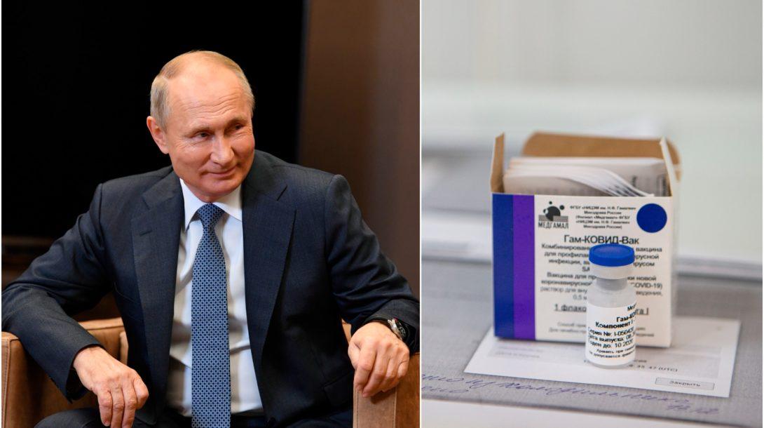 Rusko vakcína suptnik putin