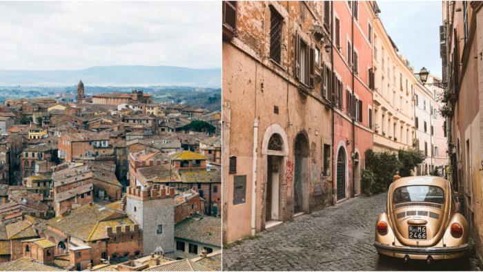 taliansko, dedina, domy