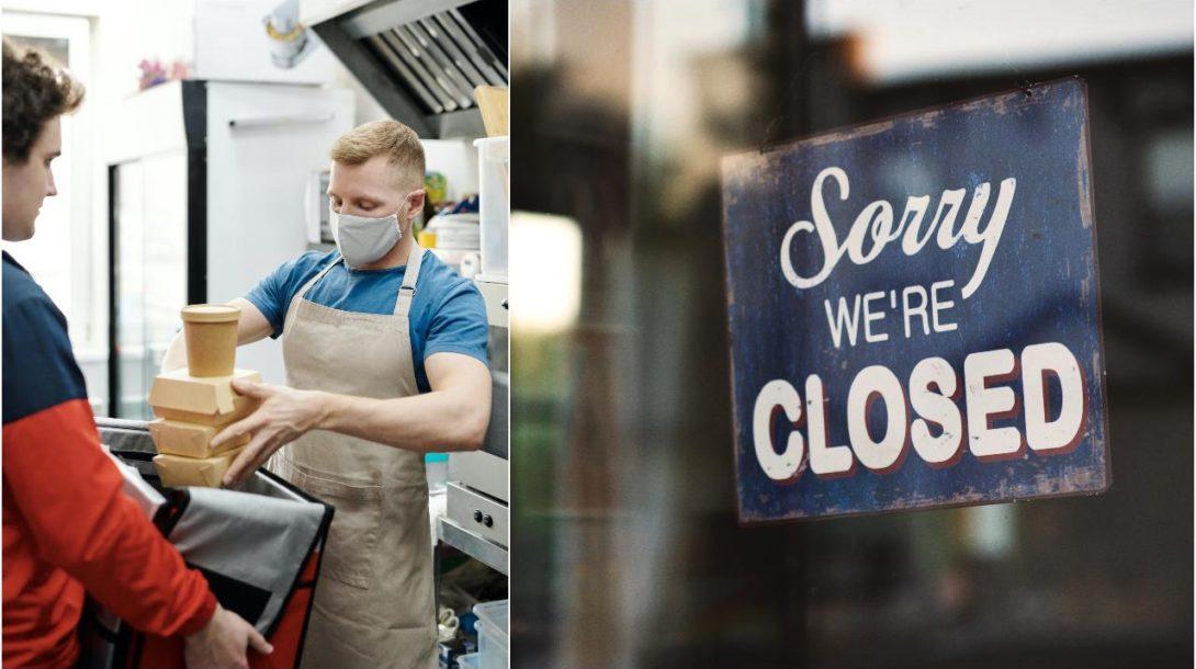reštaurácie, prevádzky, zatvorené, closed, výdajné okienko