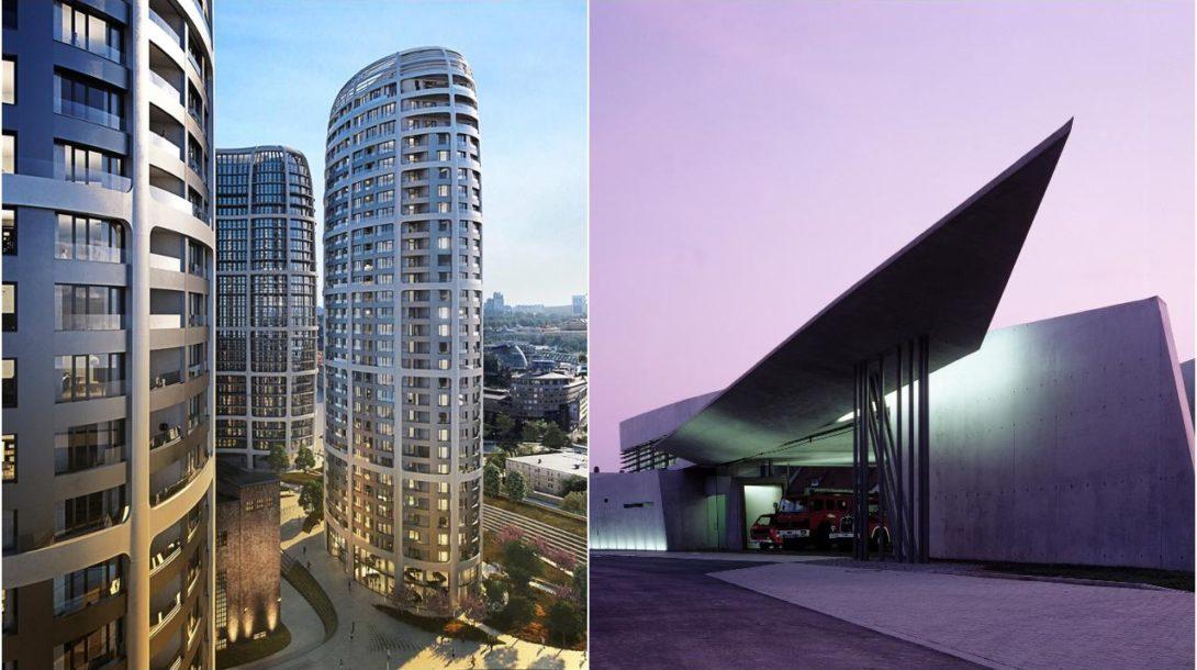 Penta Real Estate/Skypark Zaha Hadid architektúra design budovy
