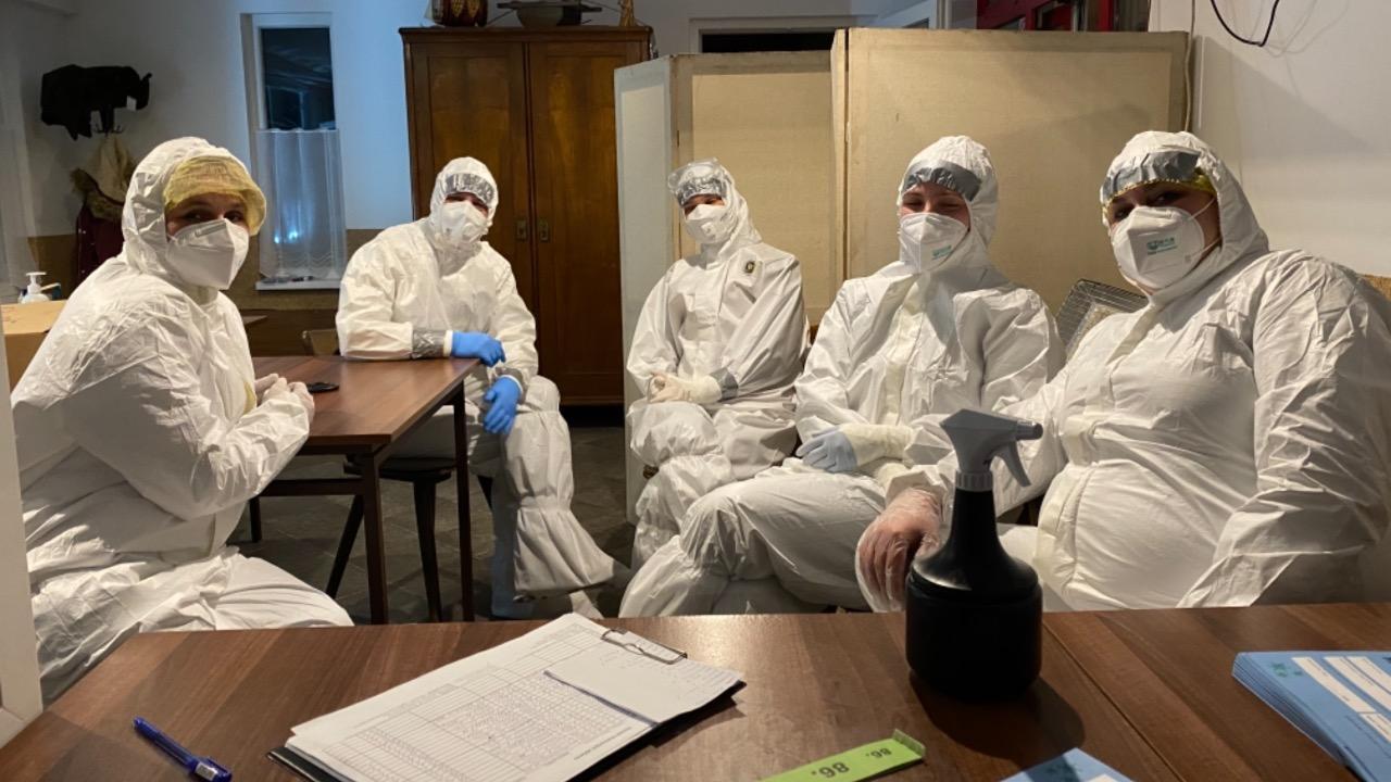 testovanie covid korona zdravotníci