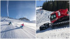 lyzovaska, zima, sneh, jasna