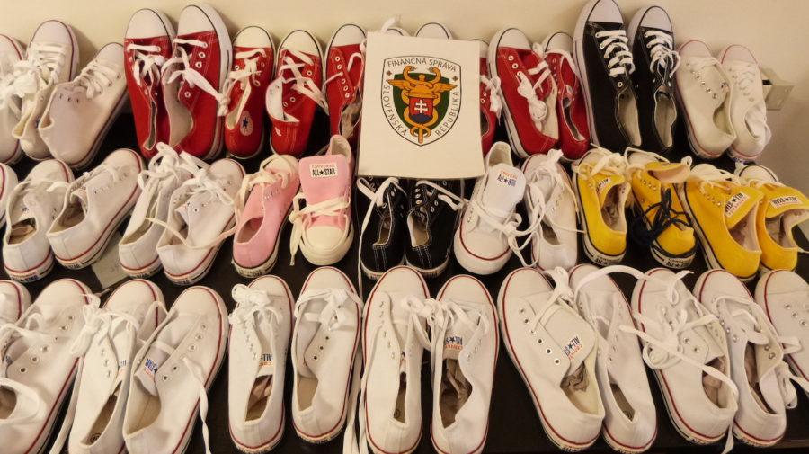 fajky falošné topánky