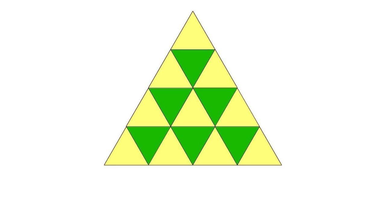 vizálny hlavolam trojuholníky
