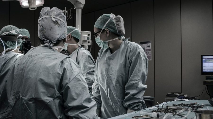 nemocnica personal sála
