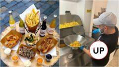 hranolky street food jedlo