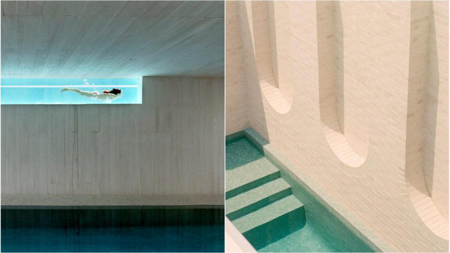 architektúra bazén
