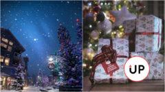 Stromček darčeky Vianoce
