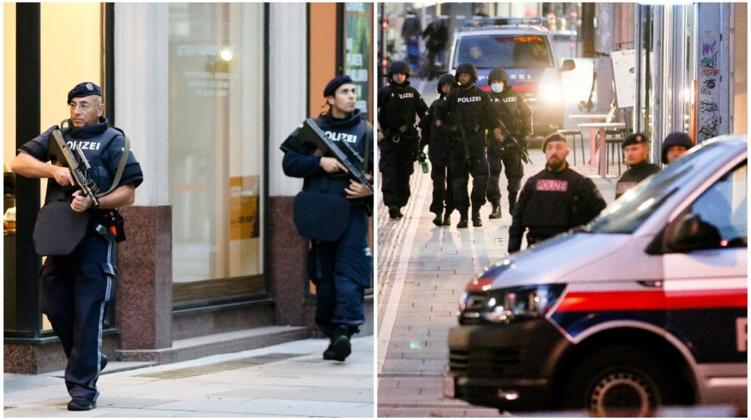 polícia, viedeň, teroristický útok