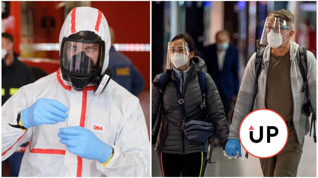 koronavírus, masky, testovanie