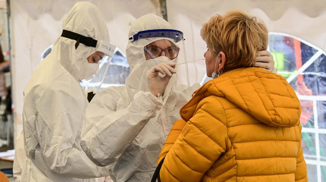 testovanie koronavirus