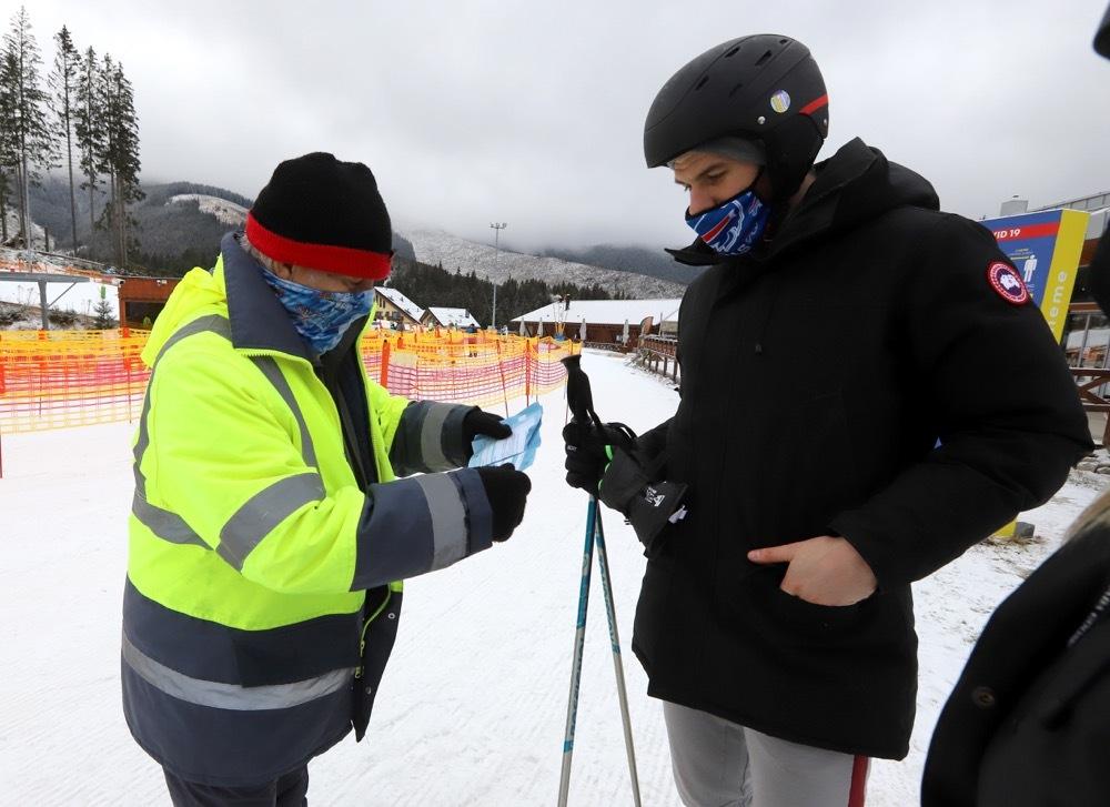 jasná lyžovanie
