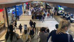 aupark korona nákupné centrá lockdown