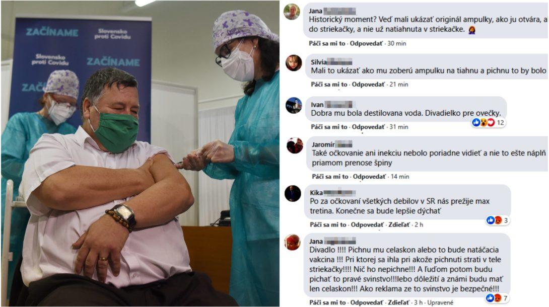 krčméry hoax očkovanie vakcína