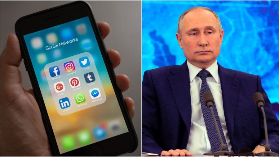 putin, social media, rusko