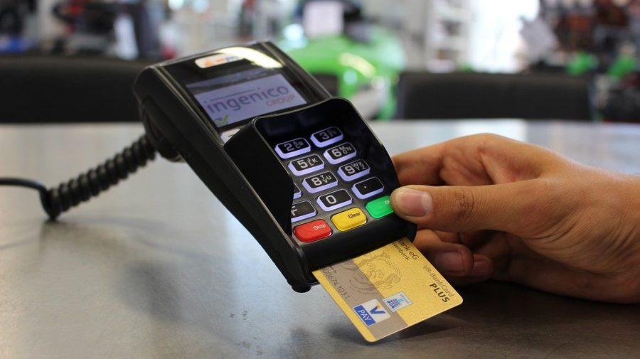 terminál platba bezhotovostná predaj karta