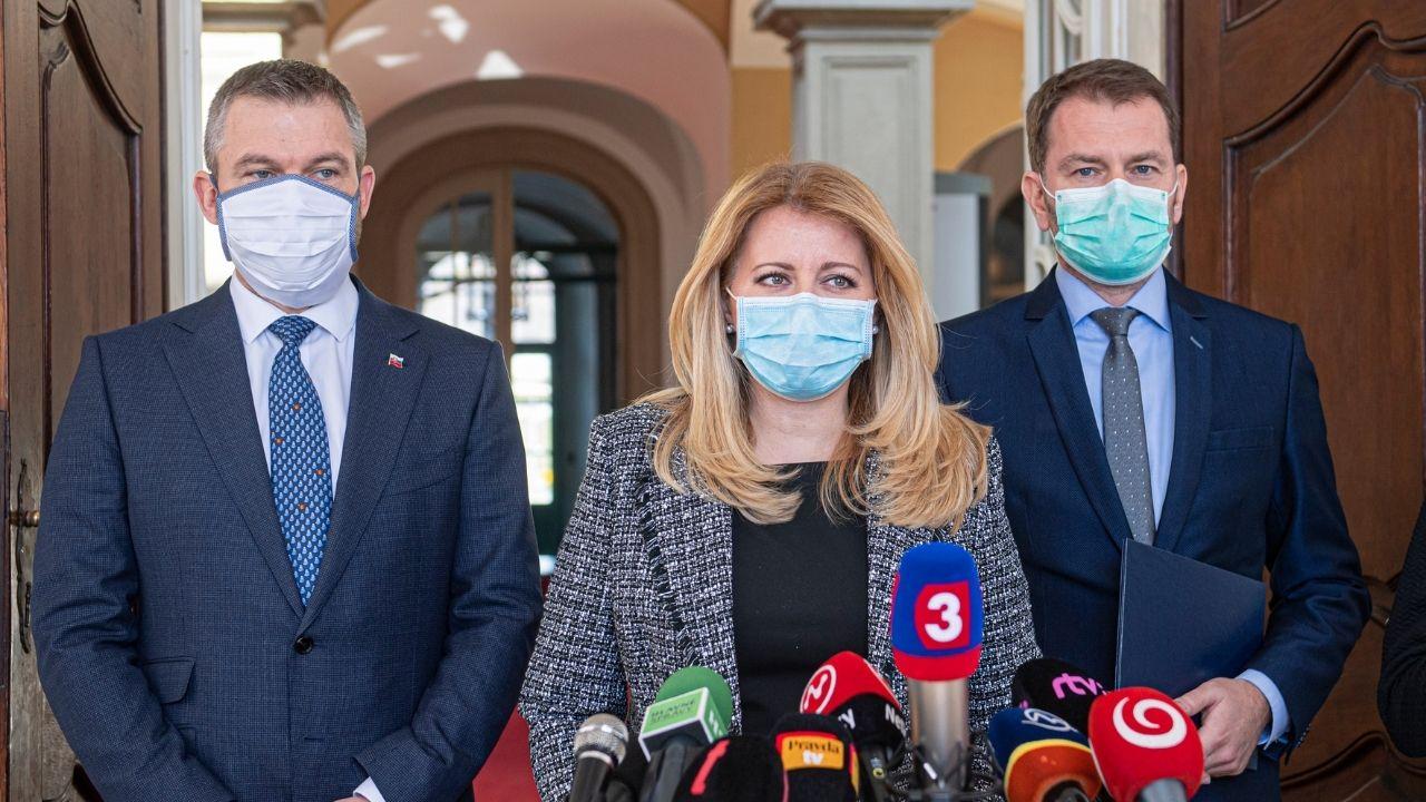 nová vláda prezidentka Matovič Pellegrini