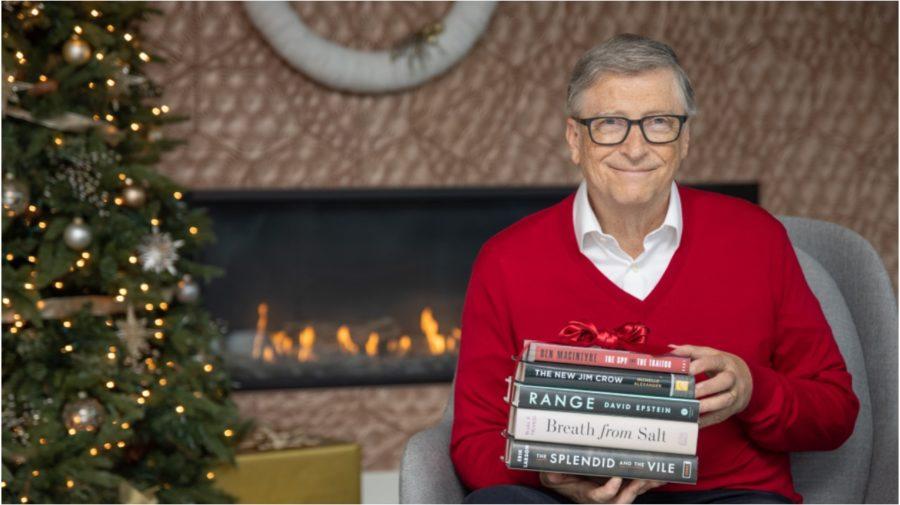 bill gates knihy vianoce