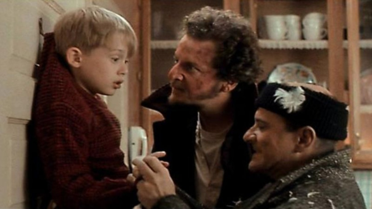 sam doma kevin film vianoce