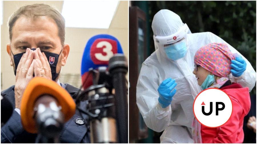 korona vírus covid pandémia slovensko