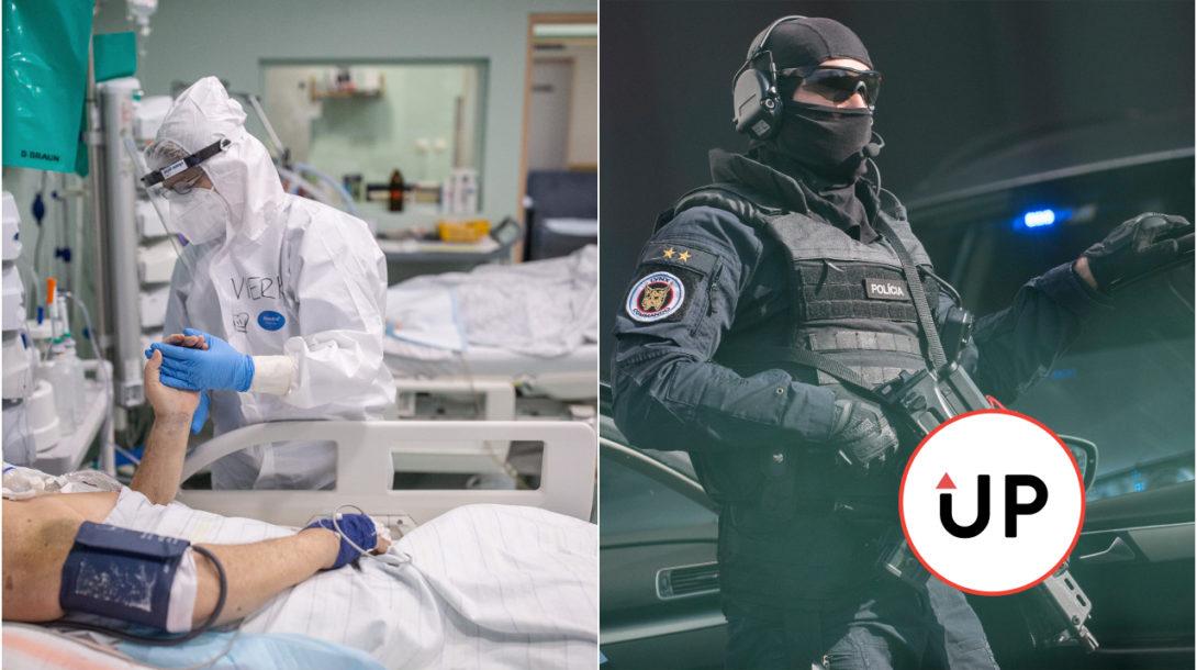 NAKA, zdravotník, pacient COVID.19