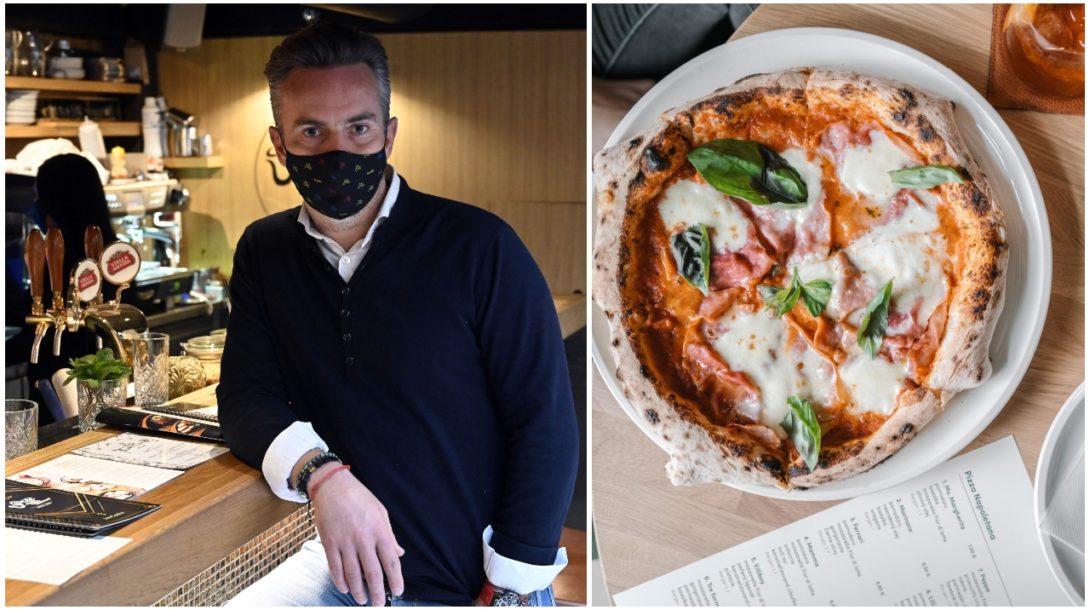 reštaurácia, pizza