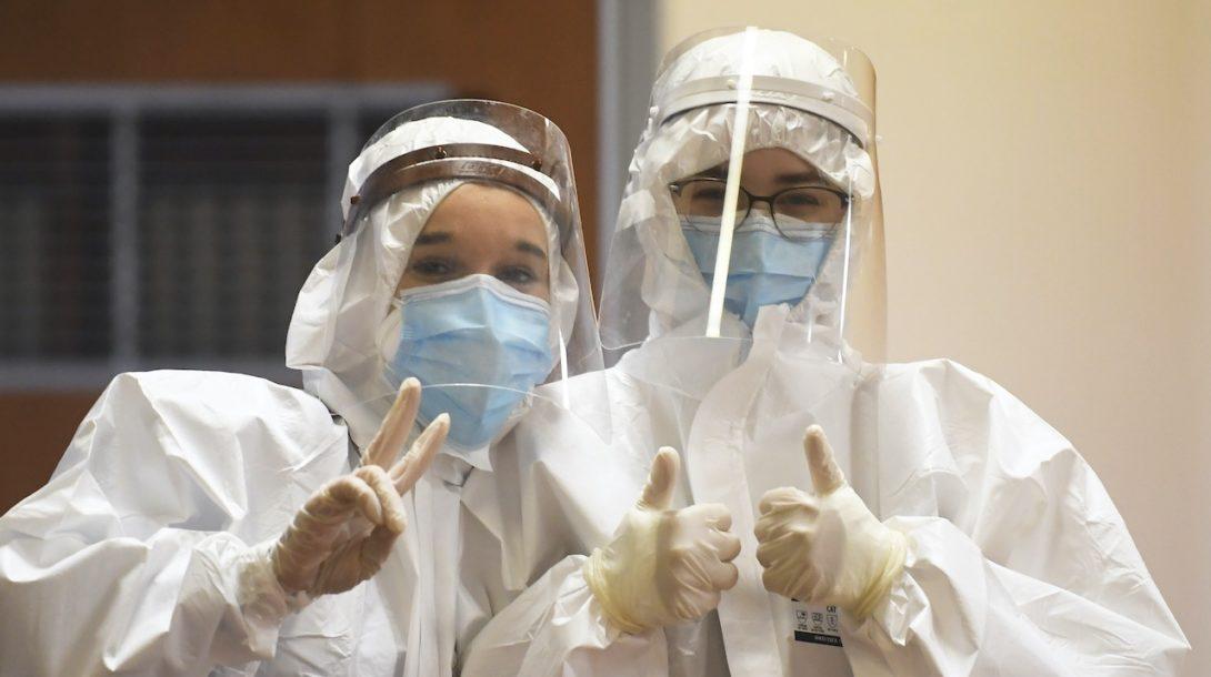 koronavírus, testovanie, košice