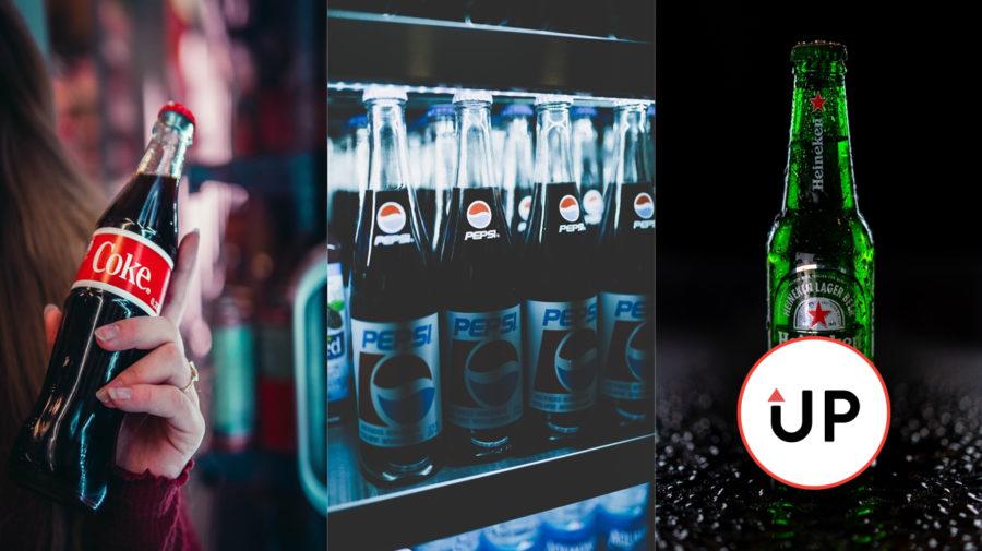 TIK Slovakia vrchnáky Cola Pepsi Heineken