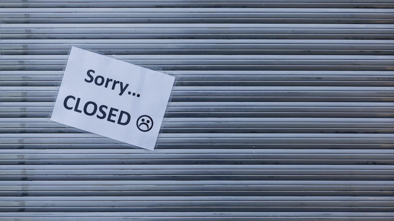 lockdown zatvorené