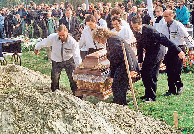 Pohreb Tibor Pápay