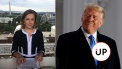 Alena Taranová a Trump