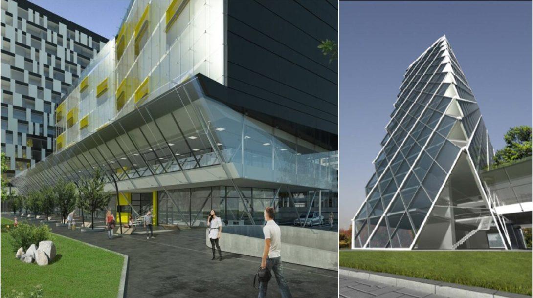 architektúra, Business Center Bajkalská 2, Kosi architekti