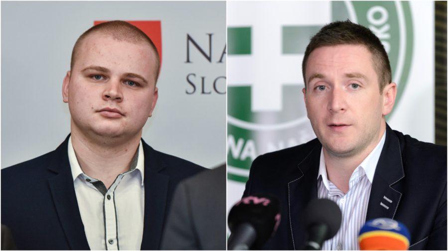 Kotlebovci Mazurek Uhrík ĽSNS