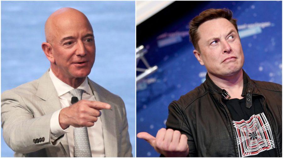Bezos Musk