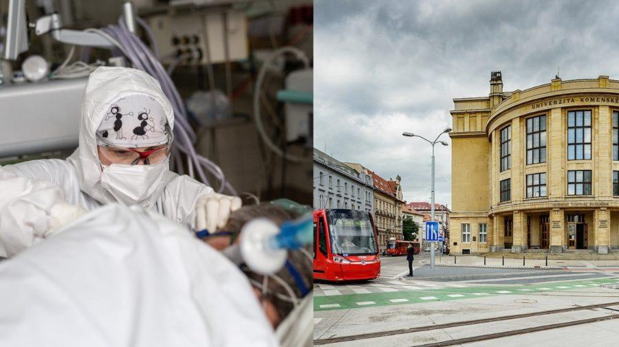 koronavirus, komenskeho, univerzita, lekar