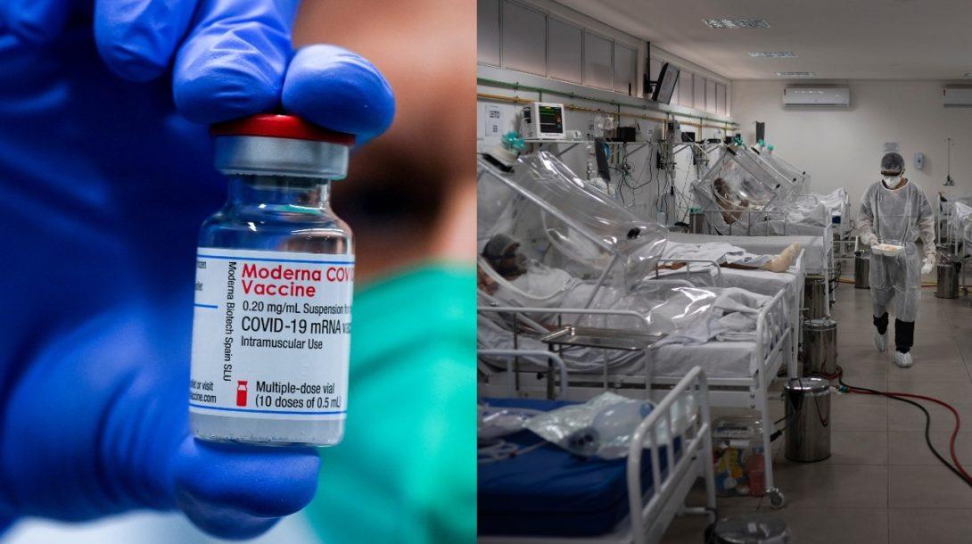 koronavirus, nemocnica, vakcina