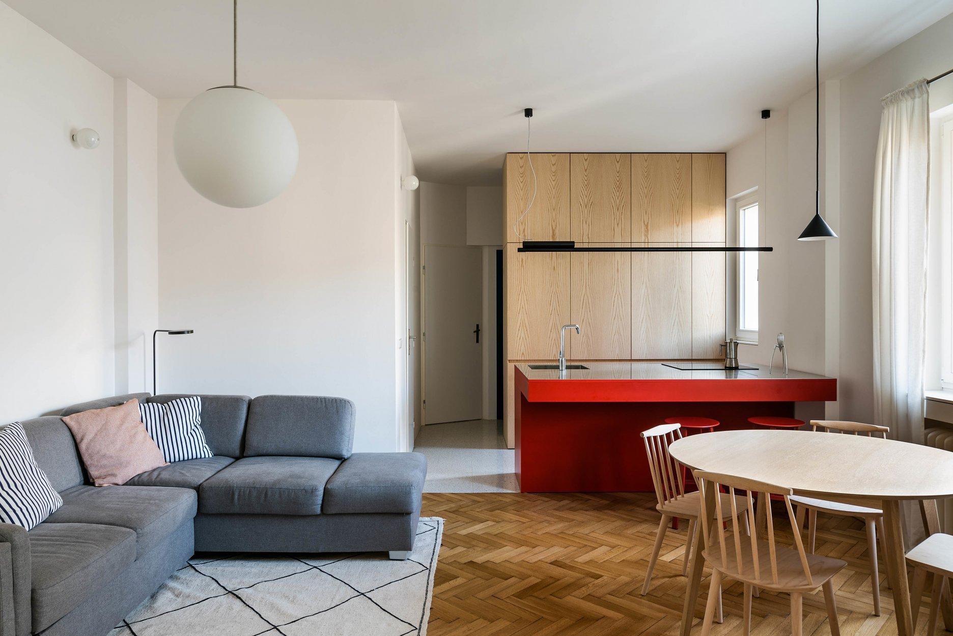 architektúra, byt, reality, design, prerábka