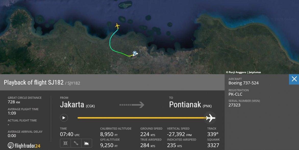 pád lietadla, Boeing 737