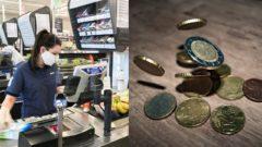 lidl, mince, peniaze